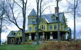 Queen Anne Style House Plans The Mysteries Of Trebor Mansion The Inn On The Haunted Hill