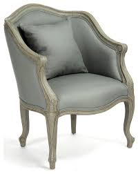 pierre french country sage moss curved back club chair
