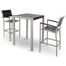 Patio Furniture Bar Set Trex Outdoor Furniture Txs126 1 Surf City 3 Bar Set