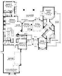 contemporary style house plan 3 beds 3 00 baths 2794 sq ft plan