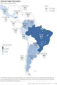 America Latina Map by