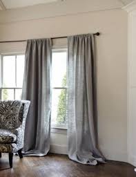 Open Those Curtains Wide French Linen Curtains Foter