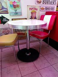 mobilier diner americain table américaine vintage décoration us 50 u0027s et 60 u0027s