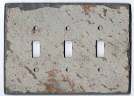 Gray Light Switch Antique Gray Decorative Slate Switch Plate Covers U2013 Vermont Slate Art