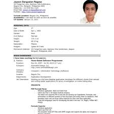 resume format 2017 philippines 79 cool resume for a job exles of resumes updated cv for a