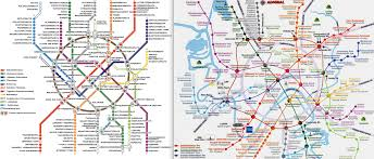Metro Moscow Map Pdf by Transport Maps Infographics U0026 Infographics