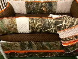 Camo Nursery Bedding Custom Baby Bedding 4 Pc Real Tree And Max 5 Camo Baby Bedding