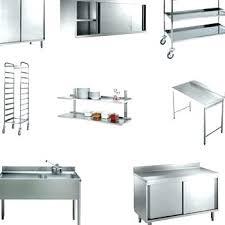 meuble inox cuisine meuble cuisine inox meuble inox cuisine table pour professionnelle