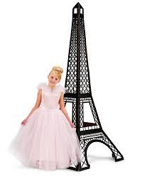 paris damask eiffel tower standup 7 u0027 tall birthdayexpress com