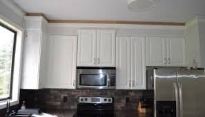 Cabinet To Ceiling Trim Reveal In Which We Do An Exorbitant - Kitchen cabinet trim