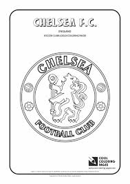 chelsea f c logo coloring page cool coloring pages