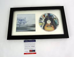 jack johnson all the light above it too jack johnson signed autograph all the light above it too cd framed