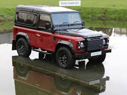 land rover defender black current inventory tom hartley
