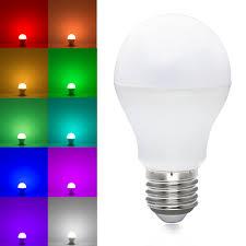 Led White Light Bulbs by 6w Rgbw Rgbww Led Bulb Rgb White Warm White Led Light Bulb
