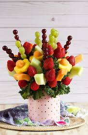 edible fruit arrangements how to make an edible fruit bouquet the suburban soapbox
