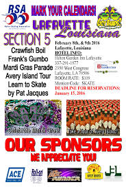 section 5 meeting mardi gras