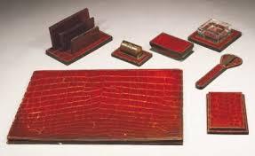 n馗essaire de bureau vente aux enchères paul dupré lafon 1900 1971 hermès nécessaire