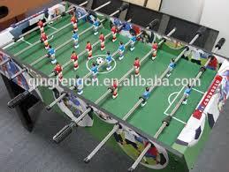 electronic table football game qingfeng football arcade game machine electronic football table