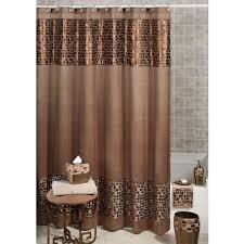 Green And Brown Shower Curtains Bathroom Wallpaper High Definition Unisex Shower Curtains Canopy