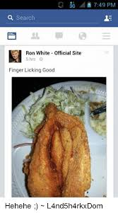 Ron White Memes - 3g search ron white official site 5 hrs finger licking good 749 pm