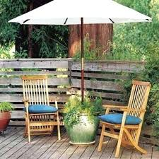 Patio Table Grommet Beautiful Patio Sets With Umbrella Or Unique Patio Table Chairs