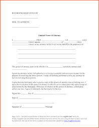 Revoke Durable Power Of Attorney Form by Limited Power Of Attorney Form Texas Limited Power Of Attorney