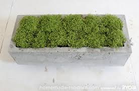 Concrete Planters Homemade Modern Ep16 Concrete Planter