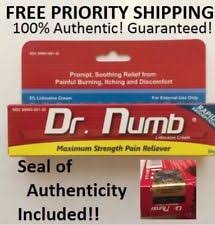 dr numb skin numbing cream body piercings waxing laser tattoo 30