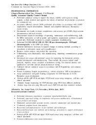 Pharmaceutical Resume Sle Of Basic Resume 28 Images Sle Of Basic Resume Experience