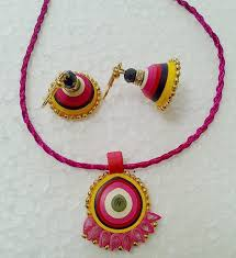 quilling earrings set quilled paper jewellery jewelsome paper jewels