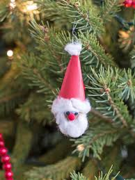 kids u0027 holiday craft glittering snowball ornaments hgtv