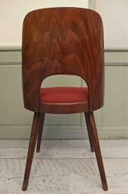 dossier de chaise slavia vintage mobilier vintage chaise ton dossier en bois