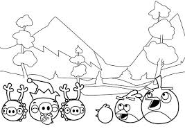 angry birds christmas drawings u2013 festival collections