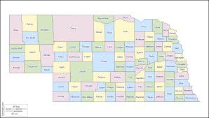 Nebraska Usa Map by Nebraska Free Map Free Blank Map Free Outline Map Free Base
