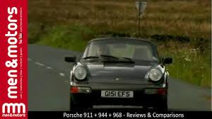 porsche 944 road test porsche 911 vs 944 vs 968 test drive review