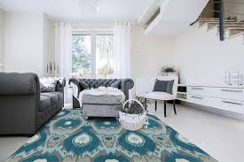 Teal Living Room Rug by Aloft Al9 Teal Area Rug By Dalyn Carpetmart Com