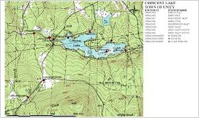 Beaver Lake Map Sampling Station Maps Annual Reports Volunteer Lake Assessment