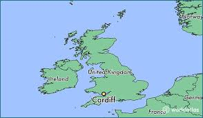 where is wales on the map where is cardiff wales where is cardiff wales located in the