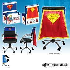 Entertainment Chair Dc Comics Supergirl Chair Cape By Entertainment Earth