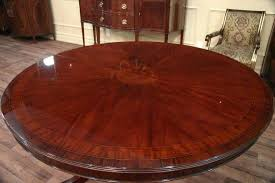Mahogany Dining Table 50 Round Dining Table Design Ideas Ultimate Home Ideas