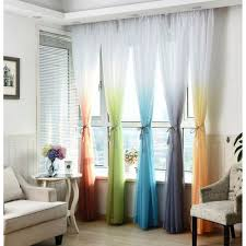 Ombre Sheer Curtains Ombre Sheer Curtains