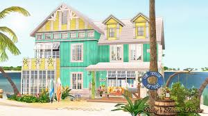 sims3 sea retreat 海邊度假屋 ruby u0027s home design
