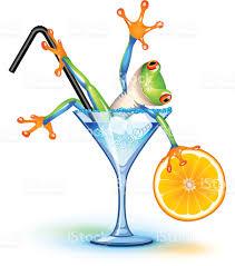 cocktail frog stock vector art 153030484 istock