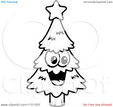 tree cartoon black and white cliparts co