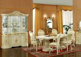 dining room china cabinets leonardo 4 door china cabinet ivory esf furniture modern