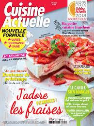 magasine cuisine abonnement magazine cuisine actuelle pas cher prismashop