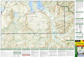 Wyoming Zip Code Map by Yellowstone Lake Yellowstone National Park Se National