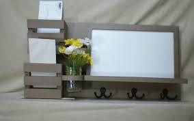 Wall Hanging Mail Organizer Mail Organizer Dryerase Board Cork Board Chalk Board Wood