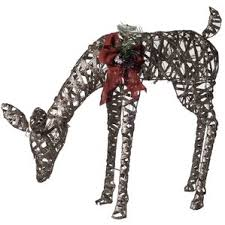 Pre Lit Animated Tinsel Dinosaur Christmas Yard Decoration by Animal Outdoor Christmas Decorations You U0027ll Love Wayfair