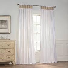 Pinch Pleated Drapes Traverse Rod Buy Pinch Pleated Curtains From Bed Bath U0026 Beyond